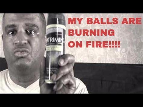 my balls my balls itch burn