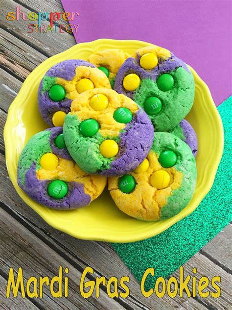 Mardi Gras Sweepstakes - let the good times roll mardi gras cookie recipe