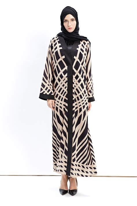 Kaftan Cardigan muslim kaftan abaya islamic dress open cardigan