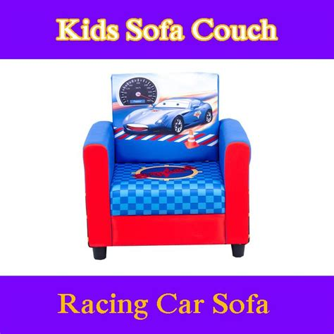 cars kids sofa furious racing car toddlers sofa lounge couch chair timber
