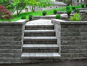 interlocking retaining wall blocks nj landscaping martoccia landscape services project 11