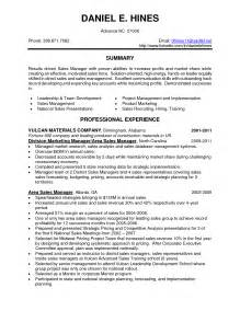 Sle Skills Section Of Resume by Employment Channel Resume Management Sales Service