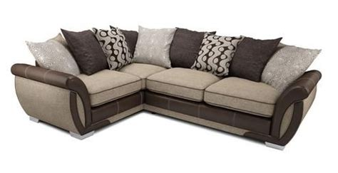 shannon corner sofa dfs shannon right hand facing 3 seater pillow back corner sofa