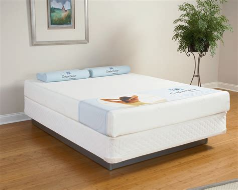 sealy posturepedic comfort series sealy comfort series memory foam 8 quot blue lake mattress