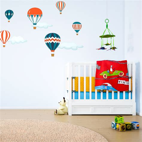 Wall Sticker Balon Uk 60x90cm classic balloon wall stickers nursery wall stickers