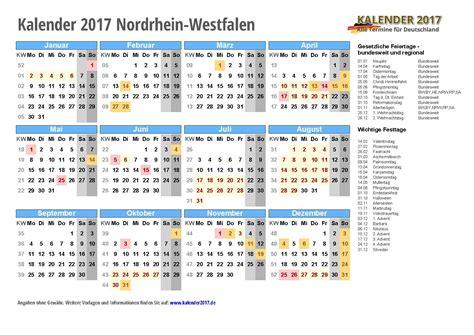 Nrw Kalender 2017 Kalender 2017 Nrw Zum Ausdrucken Kalender 2017