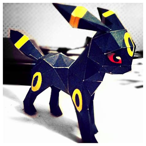 Umbreon Papercraft - umbreon by n8s on deviantart