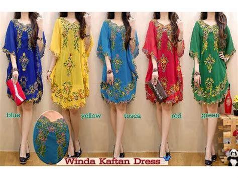 Dress Naola grosir murah gamis maxi fashion winda kaftan dress