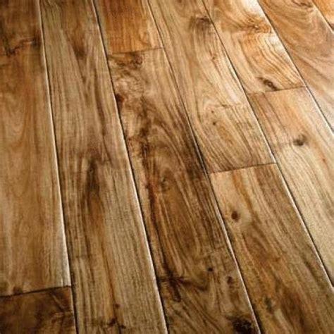 handscraped solid acacia natural kuantum flooring