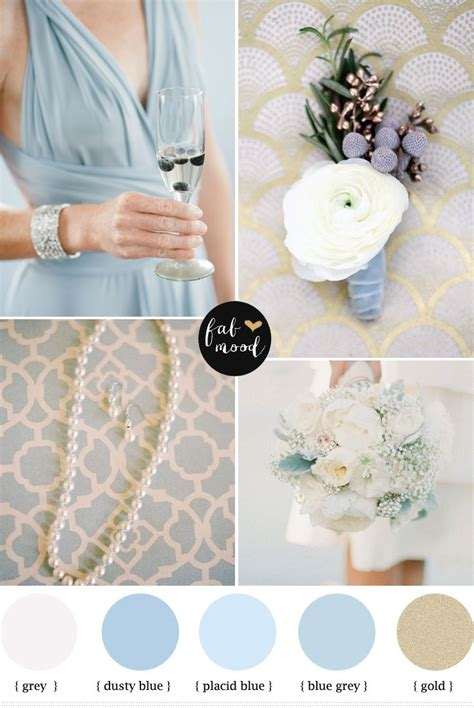 Classic Style Home Decor by Dusty Blue And Gold Wedding Dusty Blue Wedding