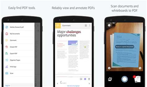 pdf reader apk for android adobe acrobat reader 18 0 0 181870 apk for android