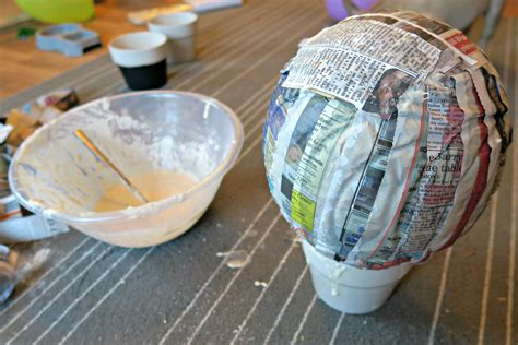 And Craft With Paper Mache - papier m 226 ch 233 air balloon craft an organised mess