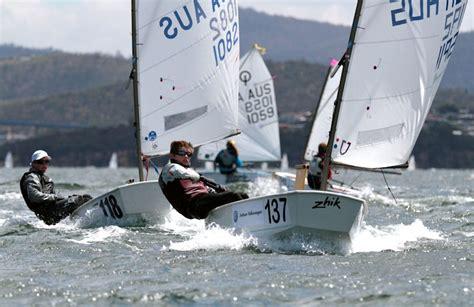 jacht optymist optimist australian chionship at sandy bay sailing club