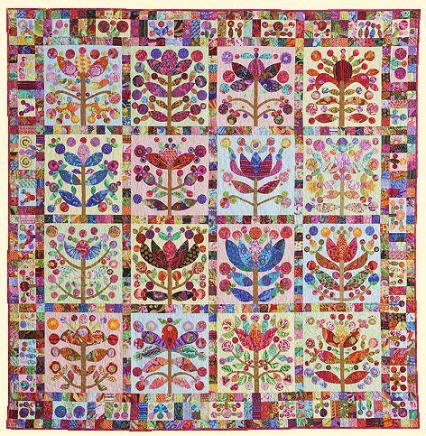 Mclean Quilt Patterns by Lollypop Trees From Glorious Color Kaffe Fassett