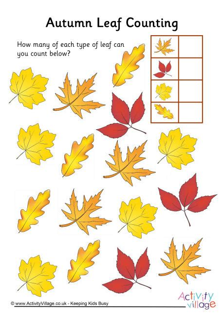 printable leaves with numbers number names worksheets 187 autumn worksheets for kids