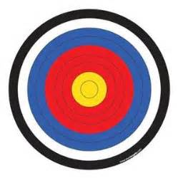printable targets for archery printable targets clipart best