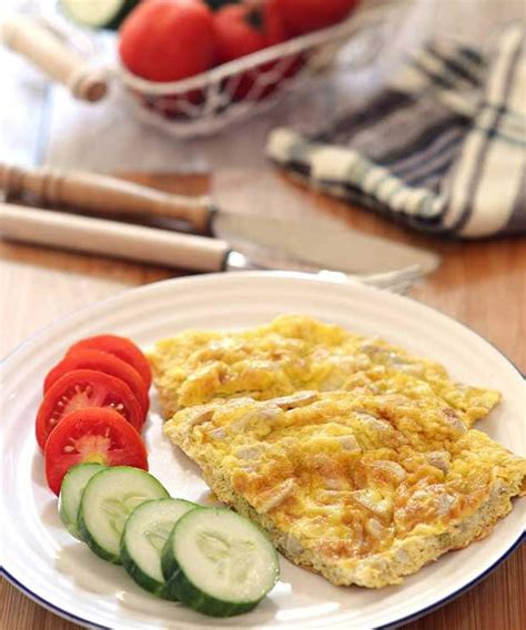 membuat omlet jamur resep omelet jamur paprika resepkoki co