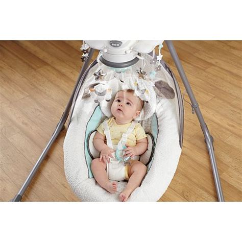 natures purest swing recall my little lamb platinum ii cradle n swing