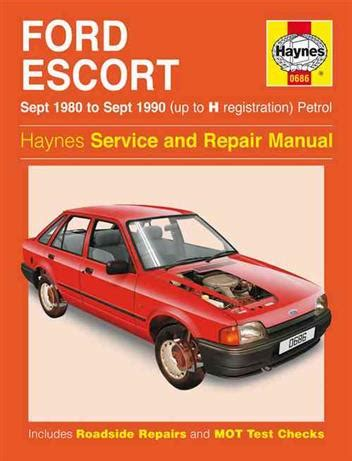 haynes manual ford escort orion diesel sept 1990 2000 ford escort petrol 1980 1990 haynes owners service repair manual 0857337084 9780857337085