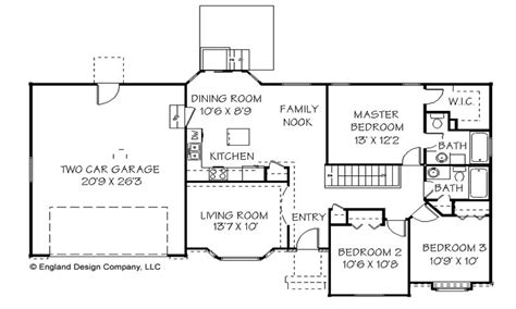 Basic Ranch House Plans by Simple Ranch House Plan Country Ranch House Plans Simple