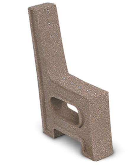 concrete bench ends concrete bench ends park benches belson outdoors 174