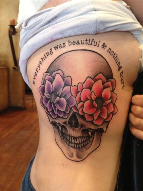 tattooed everything everything was beautiful and nothing hurt kurt vonnegut