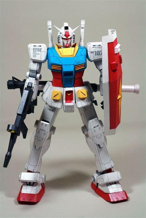 Paper Craft Gundam - rx 78 2 gundam papercraft by nausica774 http www