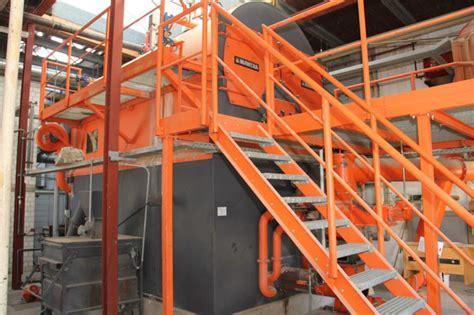 riscaldare un capannone impianto di riscaldamento industriale usato per capannoni