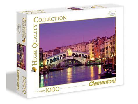 Set Hq Premium Mustika Fanta clementoni puzzle high quality collection 1000 pi 232 ces rialto bridge a2x1