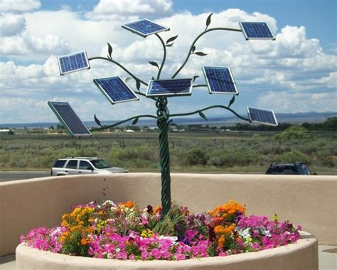 Solar Panel Flowers Charge By Day And Light Up At by Pin By Asu Lightworks On Light Inspiration