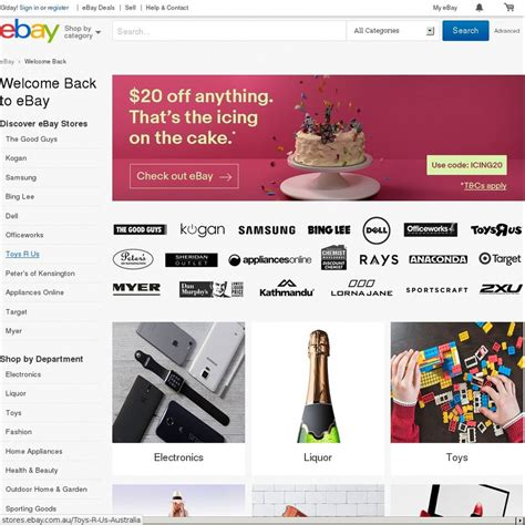 ebay ozbargain 20 off anything min spend 30 ebay ozbargain