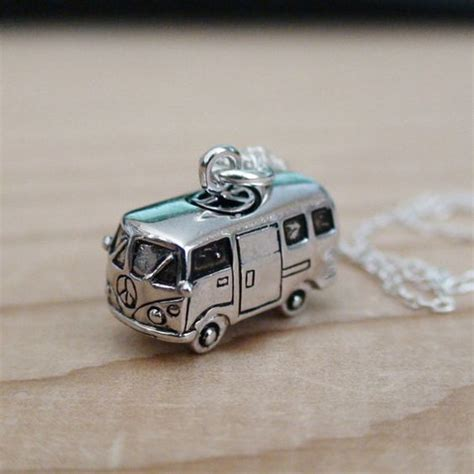 Fossil Silver Combi vw silver charms and buses on