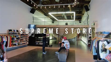 shop supreme supreme store in los angeles