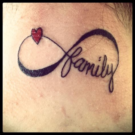infinity tattoo family meaning family infinity tattoo infinity family tattoo diy