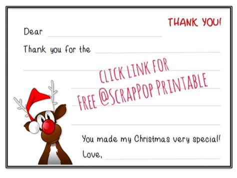 printable thank you cards for students christmas free christmas thank you cards printables
