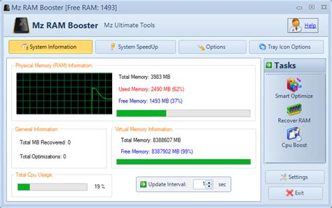 boster ram 4 effective free ram optimizer to boost your windows