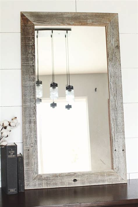 1000 ideas about reclaimed wood mirror on