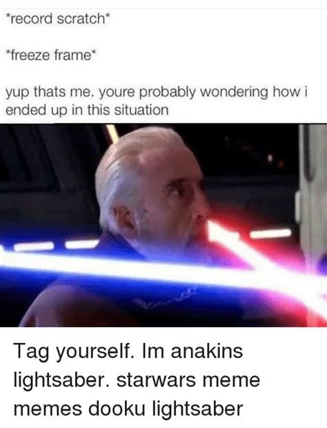 Lightsaber Meme - 25 best memes about anakin lightsaber anakin lightsaber