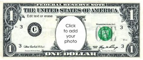 custom play money template free play money 1 dollar templates at