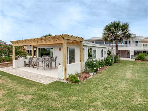 St Augustine Cottage Rentals by Direct Oceanfront Cottage Homeaway St