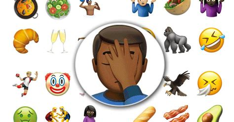 apple emoji 10 2 apple ios 10 2 update the emojis that best sum up 2016