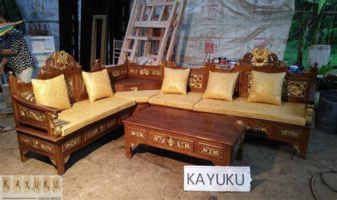 Kursi Kayu Surabaya kursi sudut surabaya mebel jepara furniture minimalis