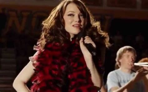 emma stone voice singing you ve got to hear emma stone singing on this new dance track