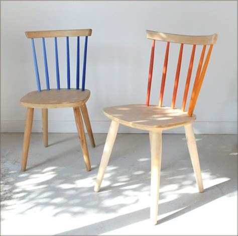 copy this partially painted chairs improvised