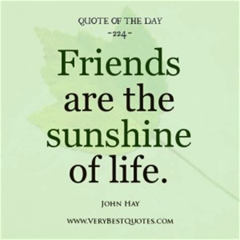 Quote Of The Day From Friend Of Nicoles positive friendly quotes quotesgram