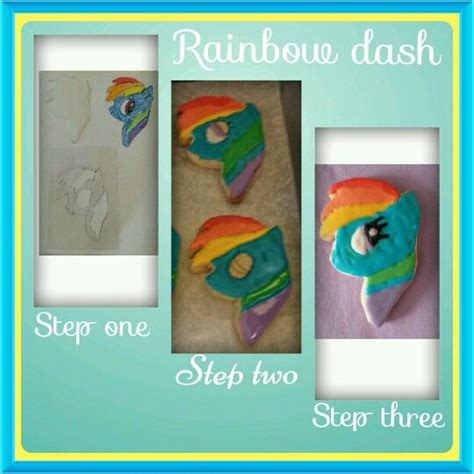 rainbow dash cake template 88 best images about cookies on merry