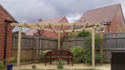 custom built pergola desborough tdj construction