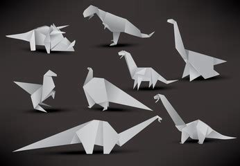 Origami Allosaurus - search photos allosaurus