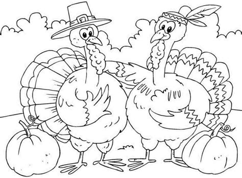 coloring pages thanksgiving coloring pages for kids