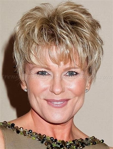 funky hair style for women 50 trendy short hairstyles for women over 50